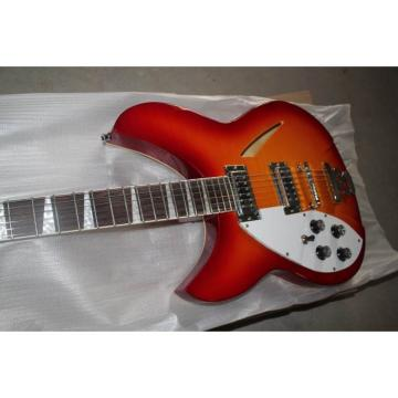 Custom 330 Left Handed 6 Strings Electric Guitar