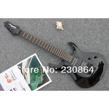 Custom  Washbn XM Black Passive Pickup Electric Guitar
