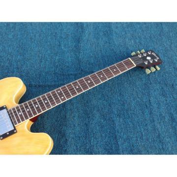 Custom 1959 ES 335 Matte Finished Natural Electric Guitar