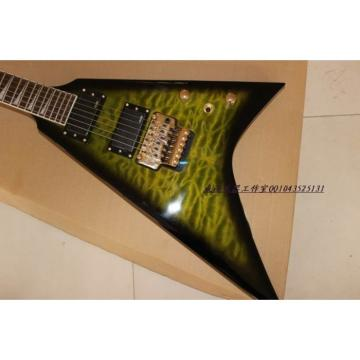 Custom 2013 Jackson Green Electric Guitar