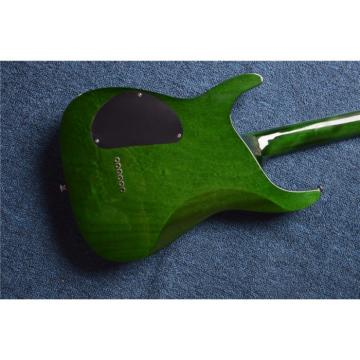 Custom  Shop Tranparent Green ESP Electric Guitar