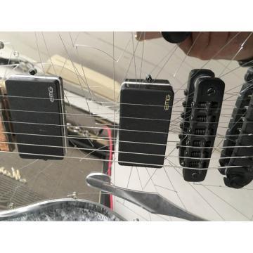 Crystal Multi Colored Plexiglass Led Acrylic Mirror Crystal Electric Guitar