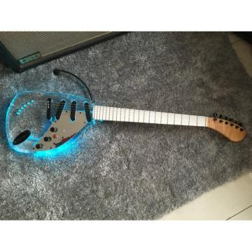 Crystal Multi Colored Option Plexiglass Led Acrylic Electric Guitar