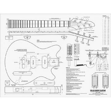 Building Electric Guitars Book and Plan