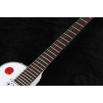 Custom White Buckethead Ultimate Electric Guitar