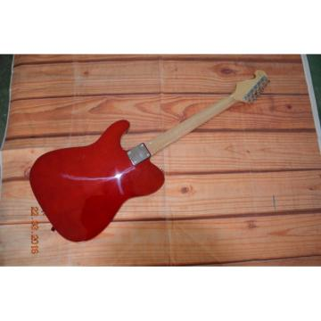 Custom Telecaster Bigsby Tremolo Paisley Red Electric Guitar
