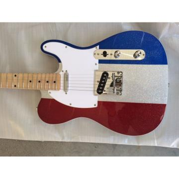 Custom Silver Hardware Buck Owens Telecaster Electric Guitar
