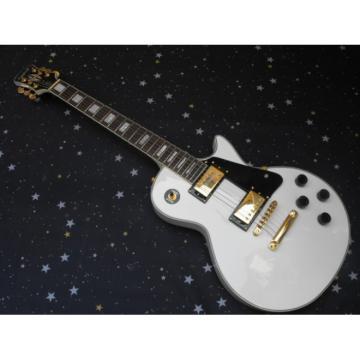 Custom Shop White Epi LP Electric Guitar