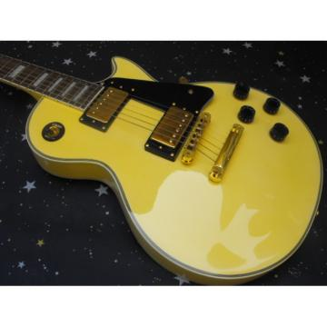 Custom Shop TV Yellow Cream Epi LP Electric Guitar