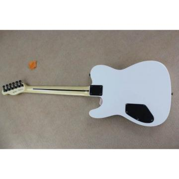 Custom Shop Telecaster White Authorized EMG Pickups Electric Guitar