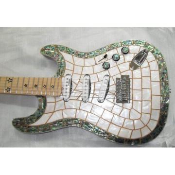 Custom Shop Stratocaster Abalone Body Electric Guitar MOP