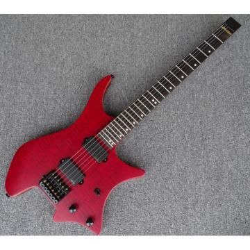 Custom Shop Steinberger Red Maple Top Headless Electric Guitar