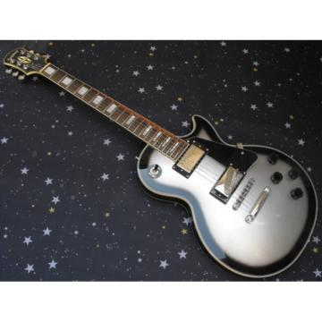 Custom Shop Silverburst Epi LP Electric Guitar