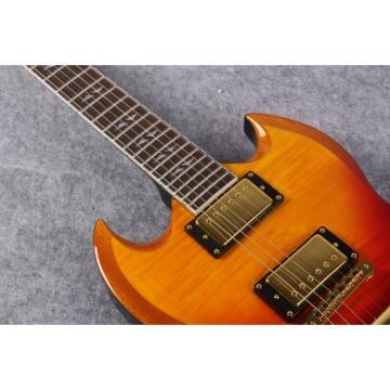 Custom Shop SG Al Di Meola Prism Tri Color Electric Guitar