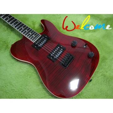 Custom Shop Red Wine Flame Top Telecaster Electric Guitar