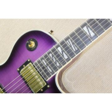 Custom Shop Purple Maple Top Standard  LP Electric Guitar