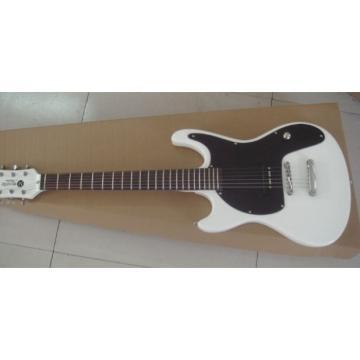 Custom Shop Mosrite 1965 Adventure Electric Guitar White Headstock