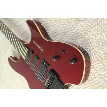 Custom Shop Red Steinberger 24 Fret No Headstock Electric Guitar
