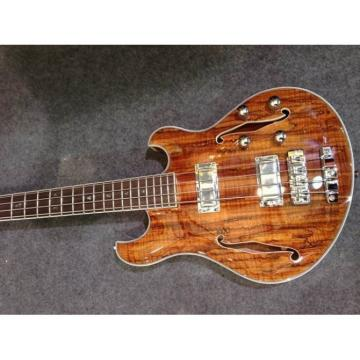 Custom Shop Natural Languedoc Electric Guitar Deadwood with Bracing Inside