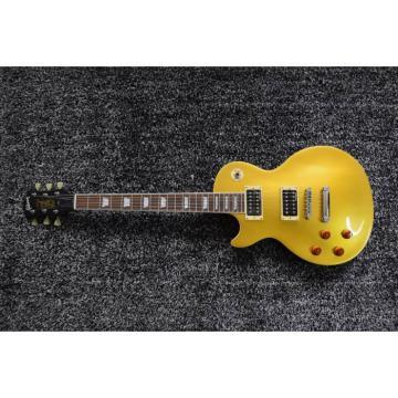 Custom Shop Left Handed Gold Top Slash 6 String LP Electric Guitar