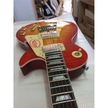 Custom Shop Cherry Sunburst Standard  Electric Guitar Wilkinson