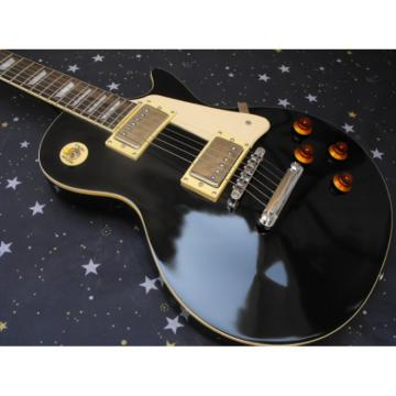 Custom Shop Black VOS Epi LP Electric Guitar