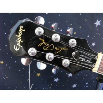 Custom Shop Black Red Burst VOS Epi LP Electric Guitar