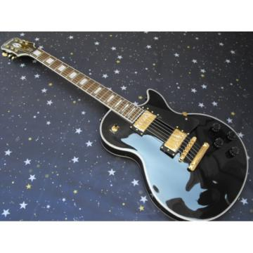 Custom Shop Black Beauty VOS Epi LP Electric Guitar