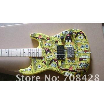 Custom Shop American Stratocaster Sponge Bob Electric Guitar