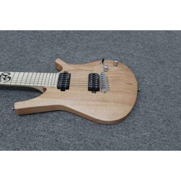 Custom Shop 7 String Neck through Body 3 PC Maple Electric Guitar
