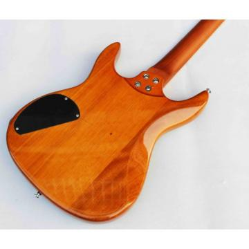 Custom Shop 6 String Tiger Maple Green Top Framus Electric Guitar