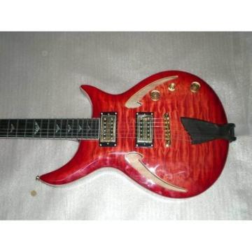 Custom Shop 6 String Tger Maple Top Ebony Tailpiece Electric Guitar