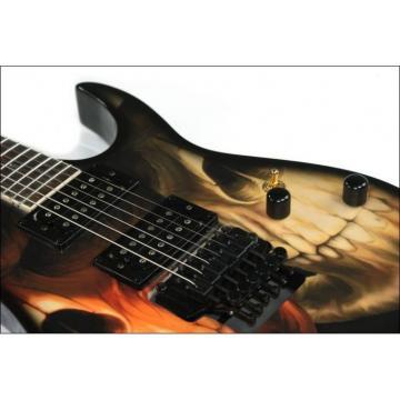 Custom Shop 6 String Skull Electric Guitar