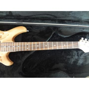 Custom Shop 6 String Mermaid Carved Natural Electric Guitar