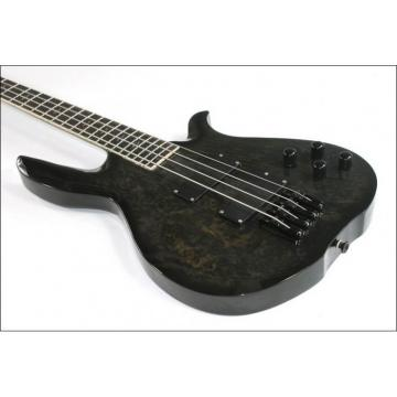 Custom Shop 4 String Black Electric Guitar
