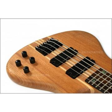 Custom Shop 5 String Natural Electric Guitar