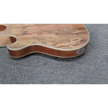 Custom Shop  Mahogany Body Languedoc Electric Guitar with Bracing Inside
