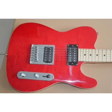 Custom Fender Telecaster Red Wine Electric Guitar