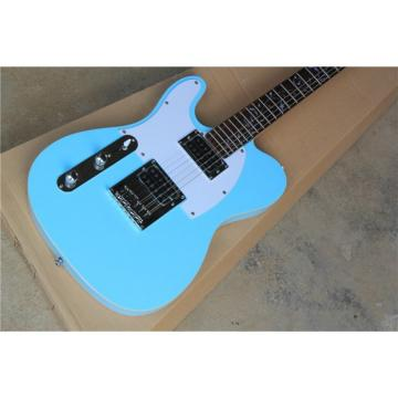 Custom Fender Left Handed Sky Blue Telecaster Electric Guitar