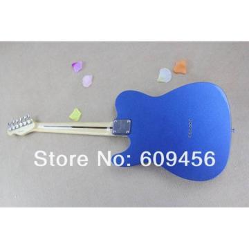 Custom Fender Metallic Blue Telecaster Electric Guitar