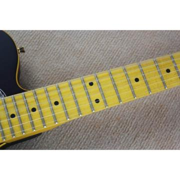 Custom Fender Matte Black Telecaster Electric Guitar