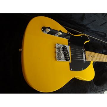Custom Fender Left Handed Telecaster TV Yellow Electric Guitar