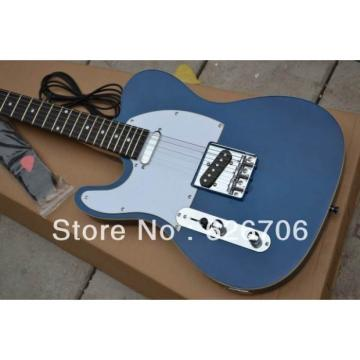 Custom Fender Left Handed Telecaster Blue Electric Guitar