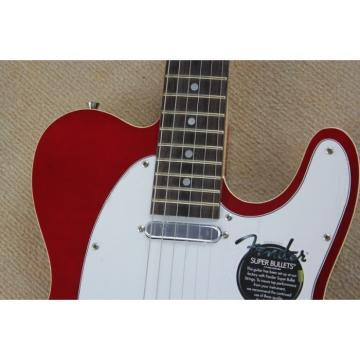 Custom Fender American Standard Telecaster Red Electric Guitar