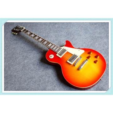 Custom Built Cherry Sunburst Standard  LP 6 String Electric Guitar