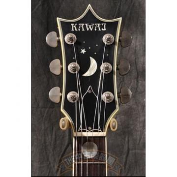 Custom Built Kawai Moonsalut Electric Guitar Color Options Real Abalone