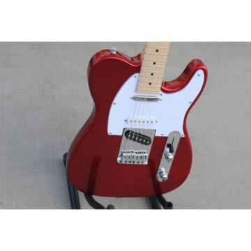 Custom American Standard Telecaster Metallic Red Electric Guitar