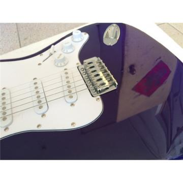 Custom American Stratocaster Purple Electric Guitar