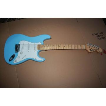 Custom American Stratocaster Daphe Blue Electric Guitar