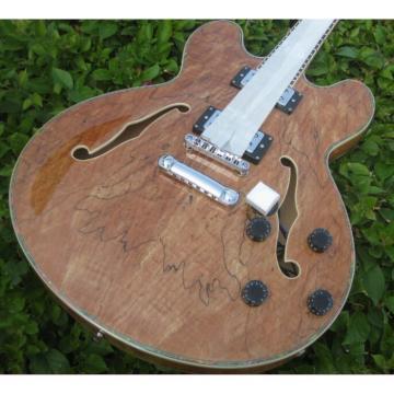 Custom 6 String Languedoc Dead Wood Grain Top Electric Guitar